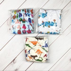 LBB | 3 Adjustable Cloth Diapers With Inserts